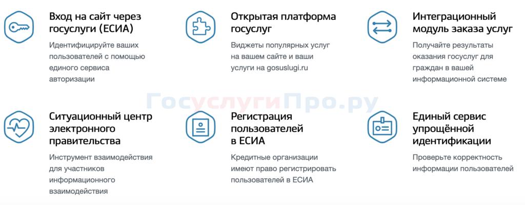 Сервисы для коммерческих и государственных партнеров